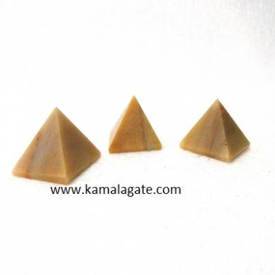 Yellow Aventurine Small Pyramid