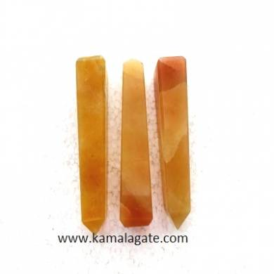 Yellow Aventurine Gemstone Towers
