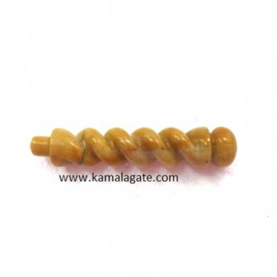 Yellow Aventurine Twisted Healing Wands