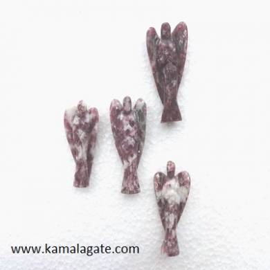 Lepedolite angels 2inch