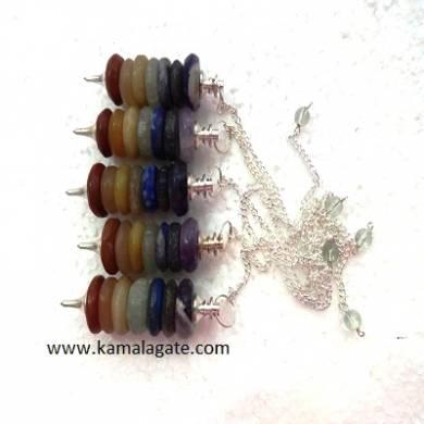 Chakra Ring Pendulums