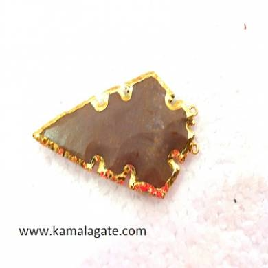 Cross Arrowheads Pendent With Electroplating