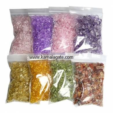 Gemstone Natural Tumble Gravel Chips Stone